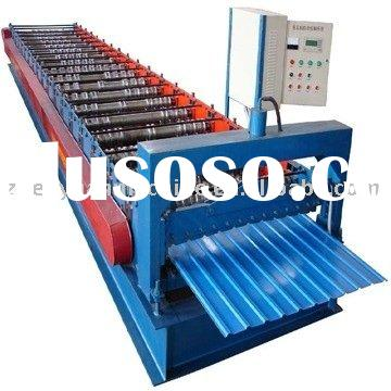 Profiled steel sheet machine,steel sheet making machine,metal sheet production line