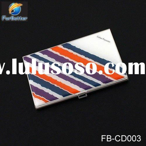 Promotional Business Name Card Holder with Logo Printing. FB-CD003