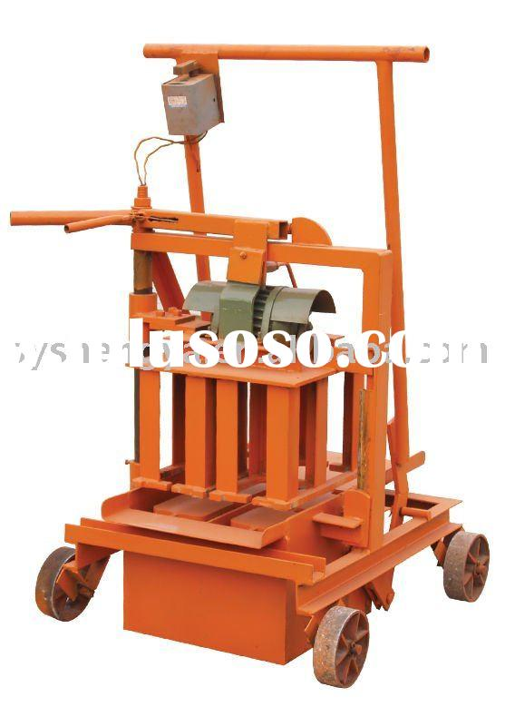 QMR2-45 manual egglaying concrete block making machine