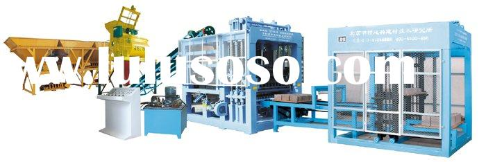 QTY9-18 Hydraulic Automatic Block Making Machine Line