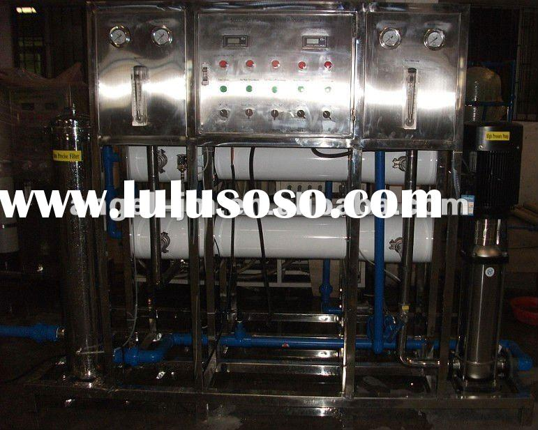 RO pure water treatment machine/potable water processing plant/bottled drinking water purifier