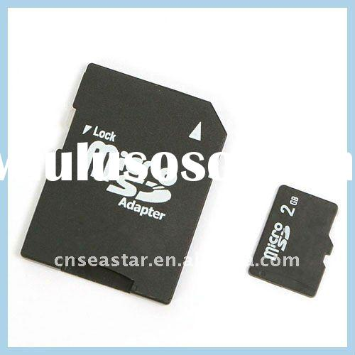 Real Capacity 2GB Micro SD Card Paypal Accepted