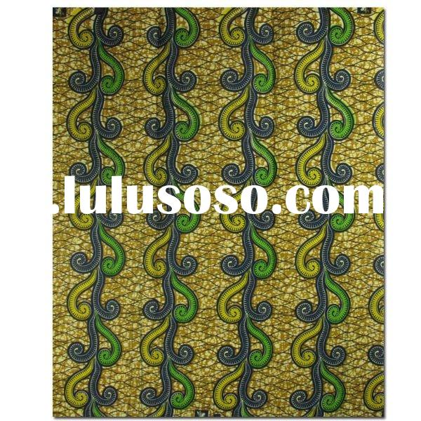 Real Wax Print Fabric 100% Cotton Fabric