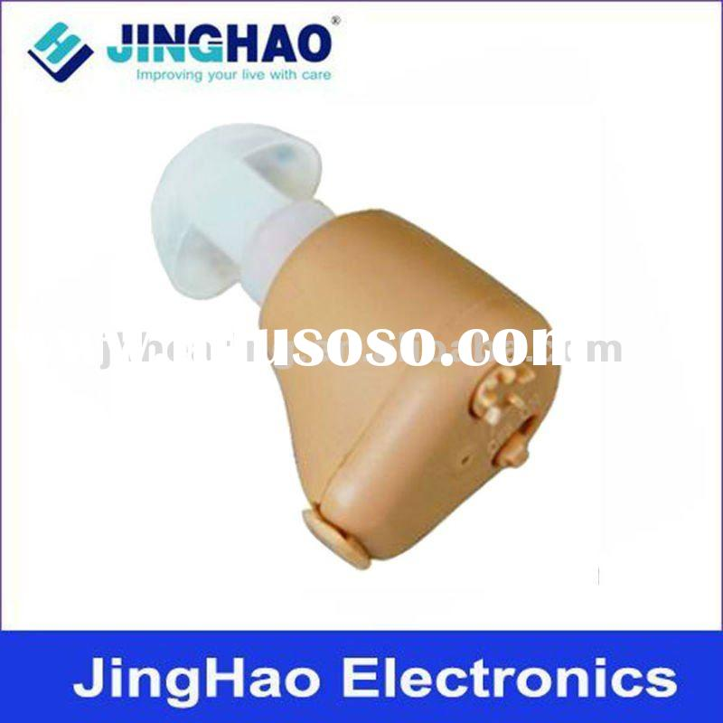 Rechargeable mini hearing aid with NI-MH battery