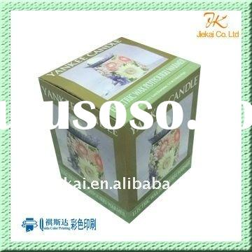 Recycled food paper box for packaging
