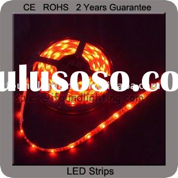 Red LED Strip Lights Car