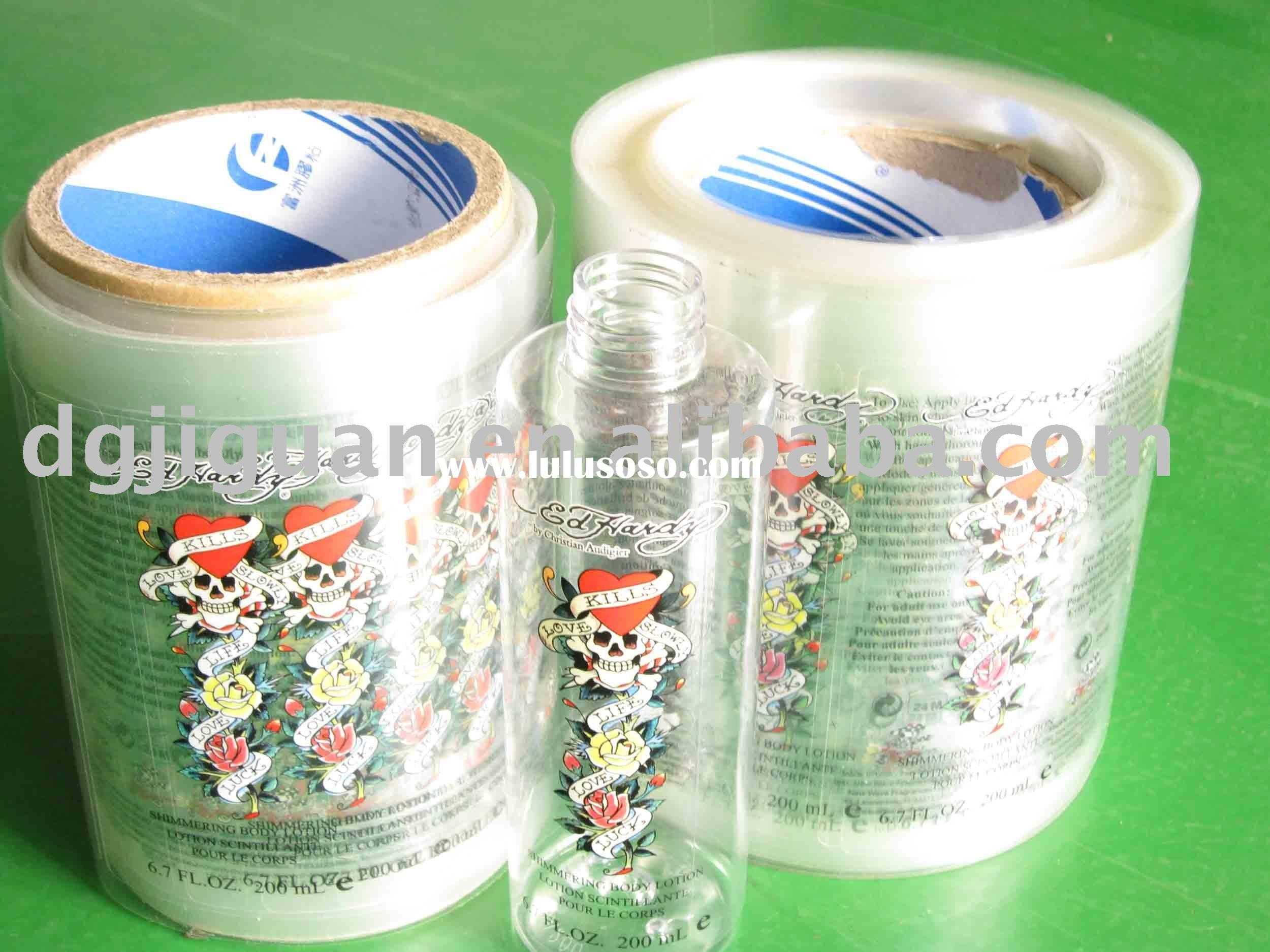 Roll Printed Label for Plastic Bottle