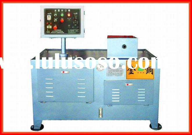 Round-head Hydraulic Metal Tube closing Machine