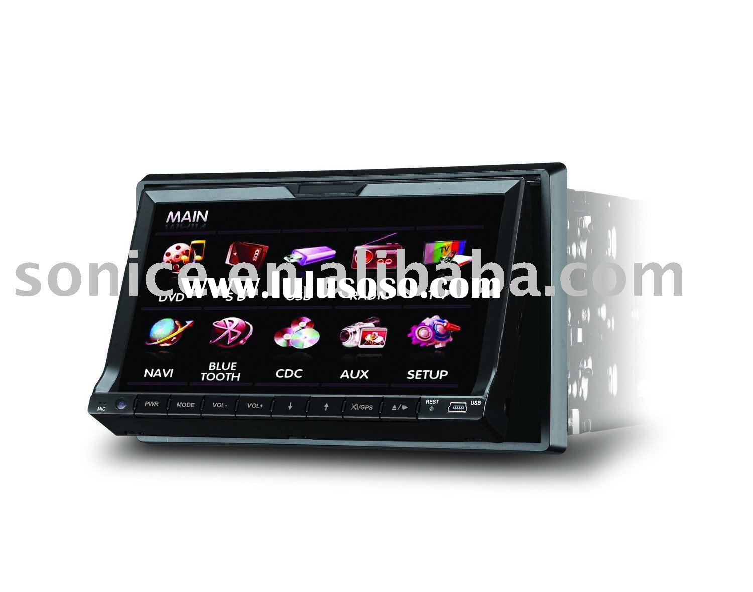"SJ-871 2 Din 7"" Car DVD Player GPS and Bluetooth"