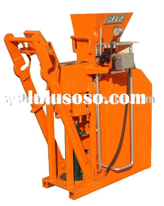 SY-1 automatic hydraulic brick making machine/clay interlock brick machine/concrete block machine