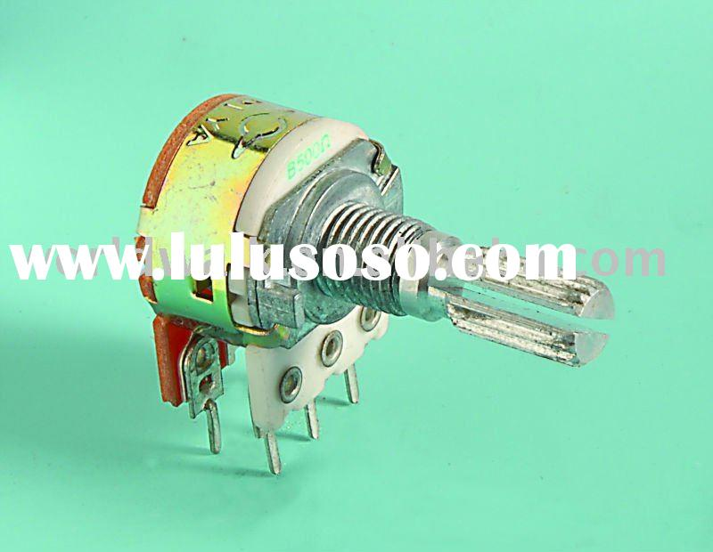 S-RC16K1/SW=K1 High Power Potentiometer with Rotary Switch