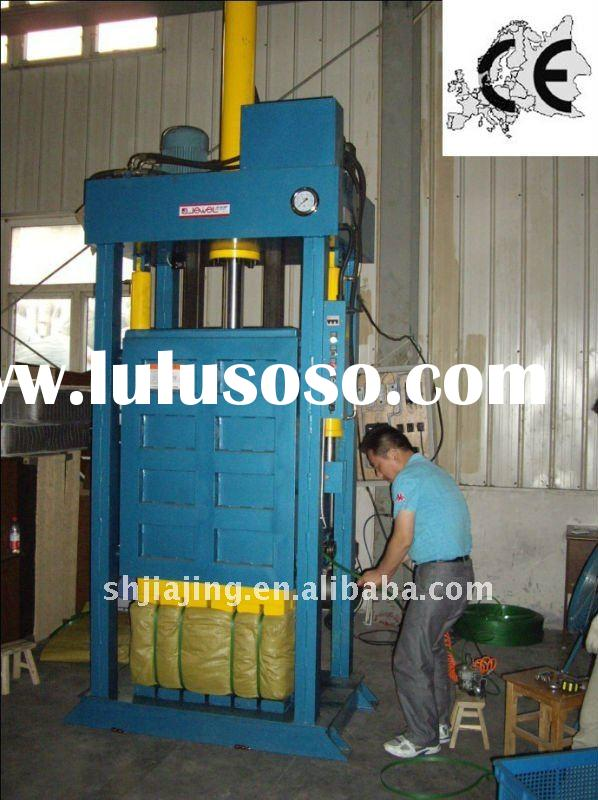 Semi-automatic Hydraulic used clothes baler machine