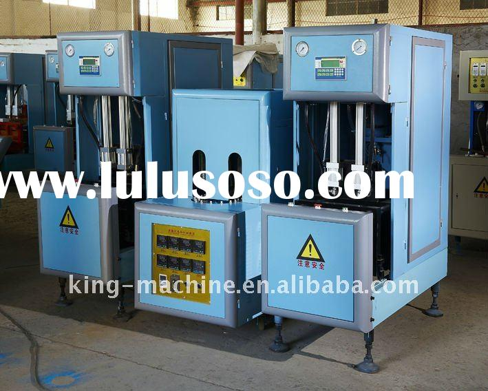 Semi-automatic PET Bottle Blow Moulding Machine