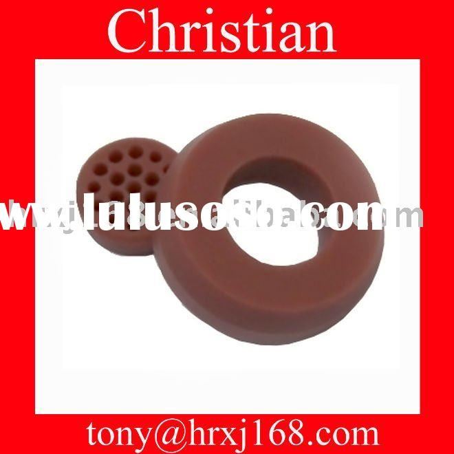 Was said Silicone rubber gasket material Drilled Clit