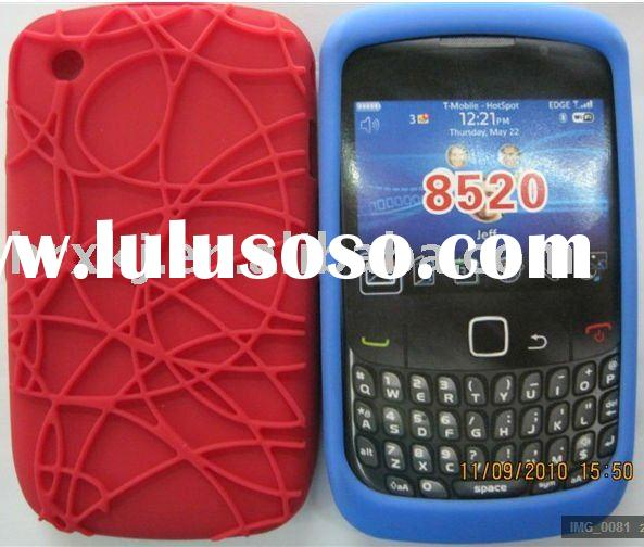 Silicone Skin Back case for Blackberry 8520
