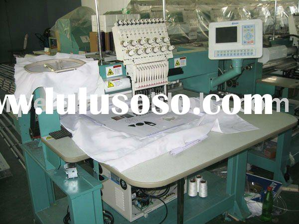 Single Head industrial frame structure Flat Cap T-shirt Embroidery Machine