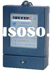 Single-phase electronic electric counter AC energy meter