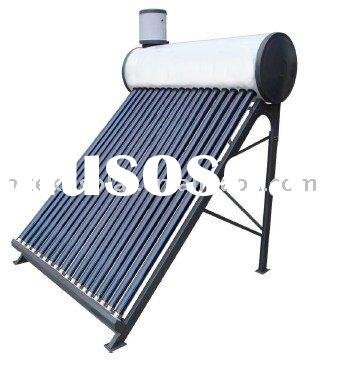 Solar water heater with assistant tank 200L