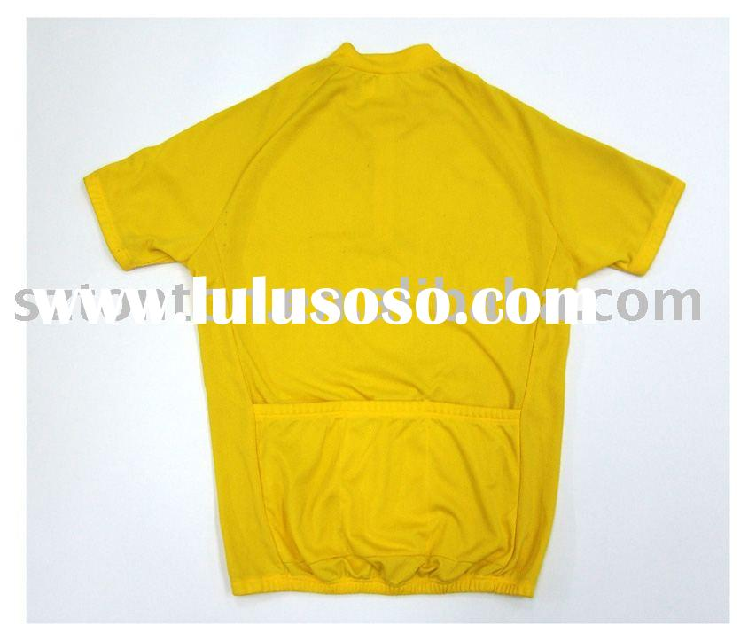 Solid color custom breathable bike wear