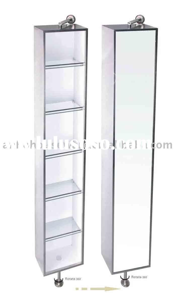 Stainless steel bathroom storage