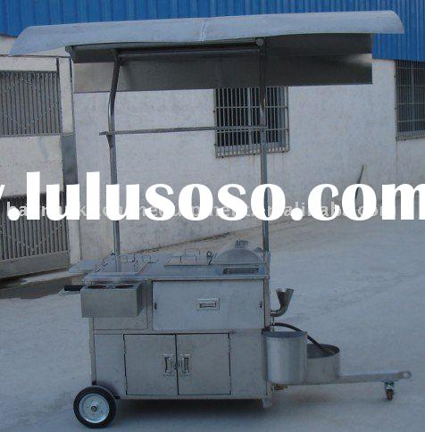 Stainless steel food cart/hot dog cart - Hot sale in Middle east