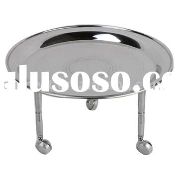 Stainless steel fruit tray / serving plate