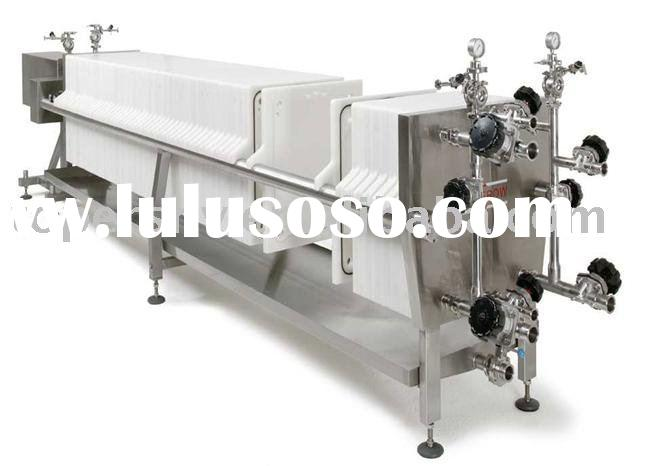 plate and frame filter press operation animation, plate and frame ...