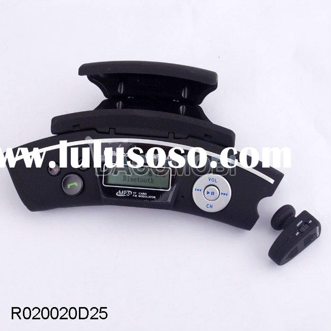 Steering wheel handsfree car kit car bluetooth mp3 fm transmitter