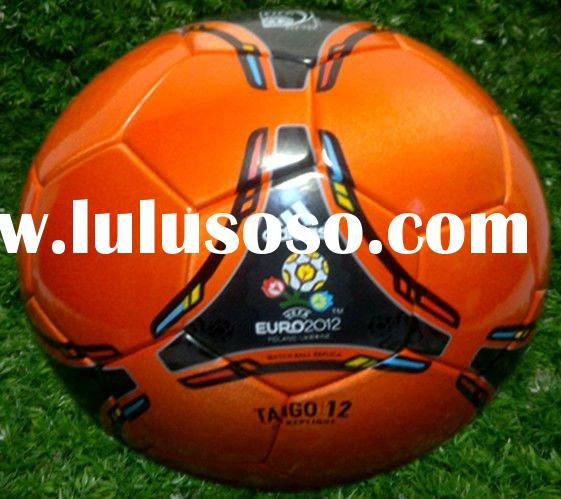 Stocking lot 2012 Euro Champions football & soccer ball, match football, official size and weigh