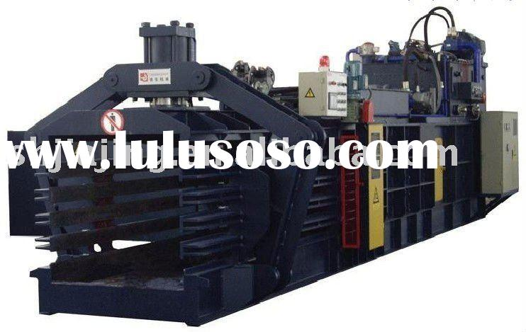 Straw baler compress machine ,fully-automatic hydraulic baler machine