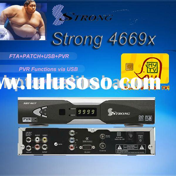 Strong SRT4669X strong4669X digital satellite receiver(dvb-s) set top box