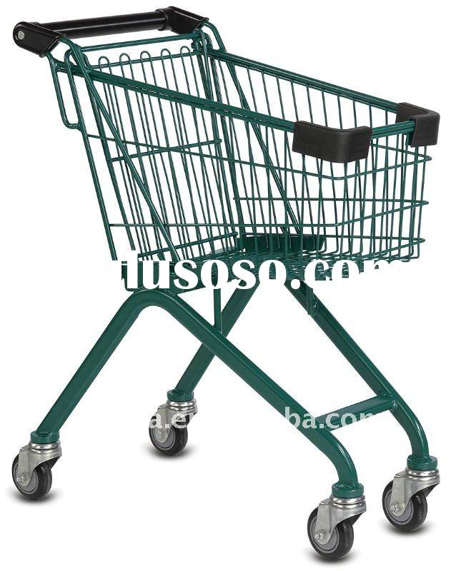 Supermarket Grocery shopping carts