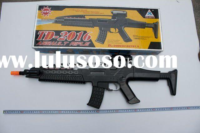 TAIDI BATTERY OPERATED TOY GUN WITH LIGHT AND SOUND