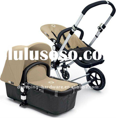 THE BEST SELLING OF BUGABOO BABY STROLLER/SAND ON BLACK