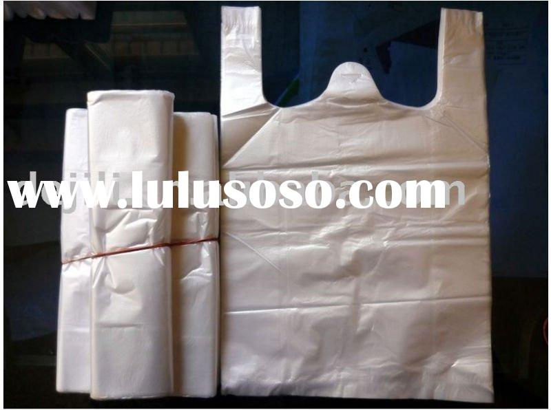 T-shirt bag, plastic grocery bag with quality