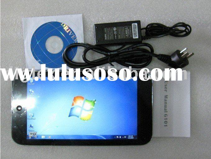 Tablet PC Windows 7,,N455 Intel Atom 1.66GHz capacitive multi-touch screen 3G Notebook