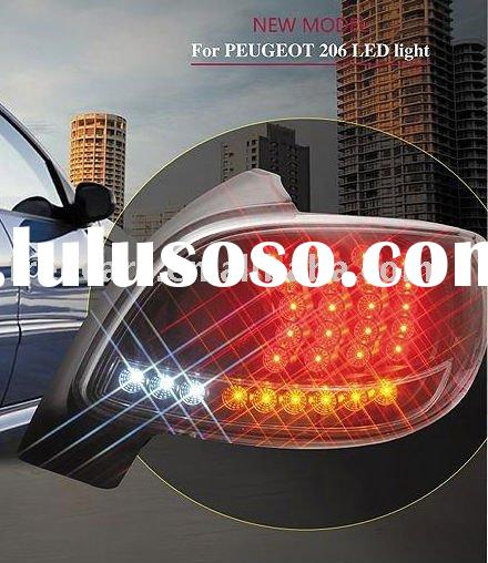 Tail lamp LED,tail light,lamp,auto body parts for Peugeot 206