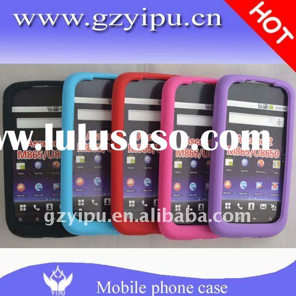 Thick Silicon Rubber Cell Phone Back Cover Case accessories M865(Ascend 2) U8650 for Huawei