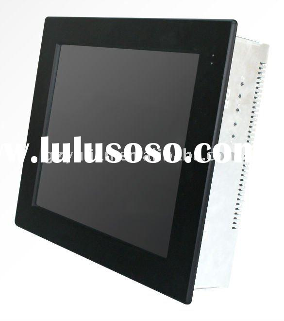 Touch screen HMI machine/dust proof resistive touch screen/industrial touch screen
