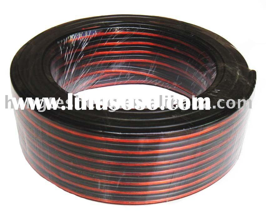Red And Black Speaker Wire : Red and black speaker cable