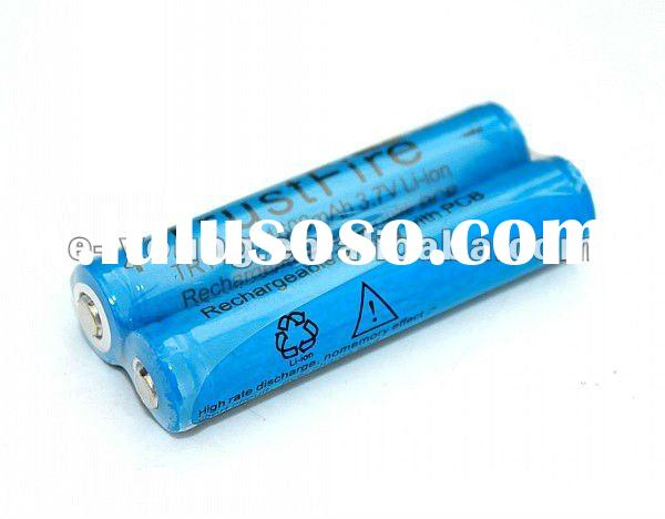 TrustFire 14650 1600mAh 3.7V Li-ion Rechargeable protected battery