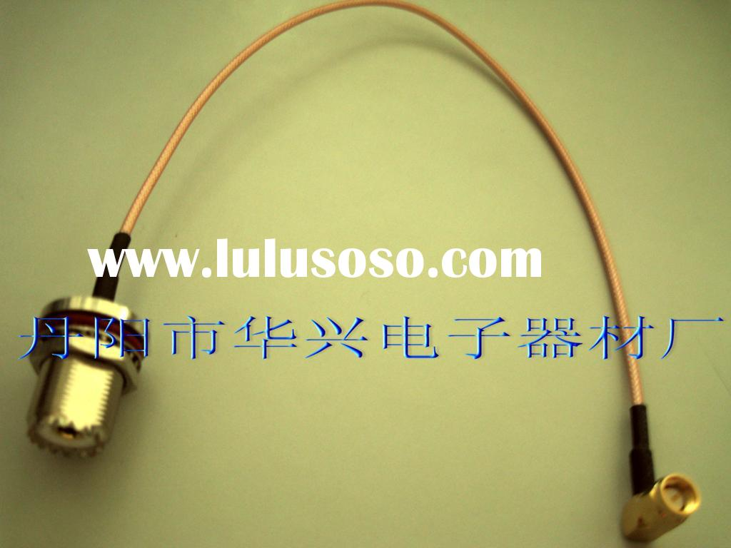 UHF SO239 connector to sma rf cable assembly pigtail