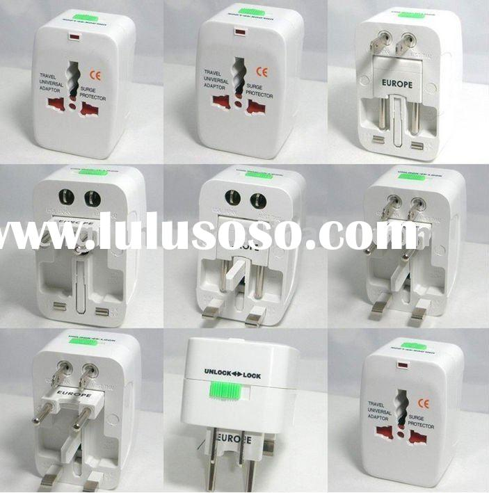 Universal Travel Adapter with UK USA AU EU Plug Universal AC Power Socket Switching Adapter