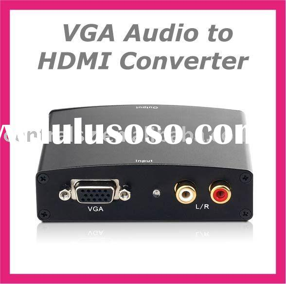 VGA Audio to HDMI Converter