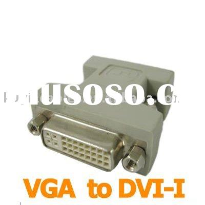 VGA TO DVI Converter Adapter /VGA 15PIN MALE TO DVI 24+1 FEMALE