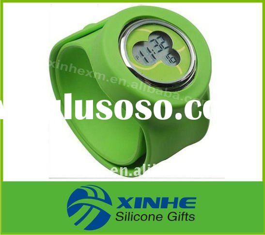 Wholesale Electronic Silicone Slap/Snap Watch