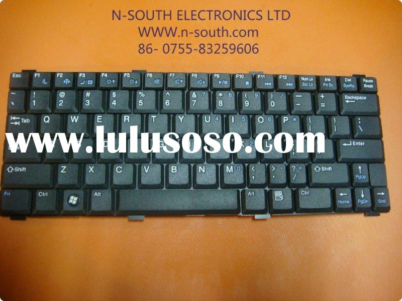 Wholesale Laptop Replacement Ergonomic Keyboard for DELL 1200 Black Series