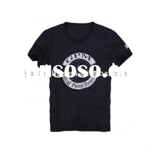 Wholesale Men's T-shirts, Made of Cotton Material, Available in Customized Designs