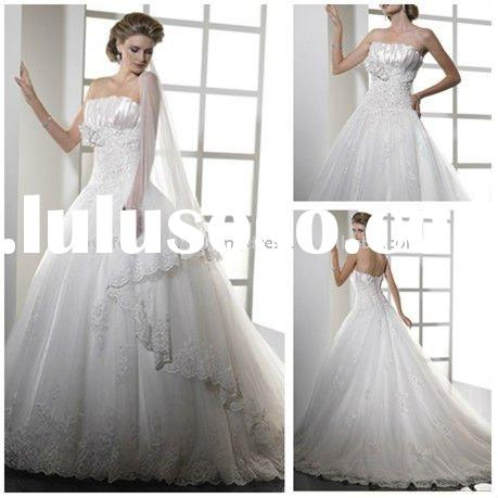 Wholesale Retail Ball Gown Princess Wedding Gowns Lace