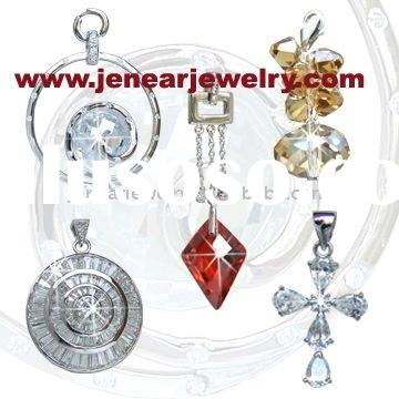 Wholesale Solid 925 Silver Jewelry, Fashion Gifts Custom Jewelry Making According To Customer&#3
